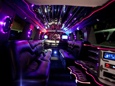18 Passenger Stretch SUV Limo - H2 Hummer