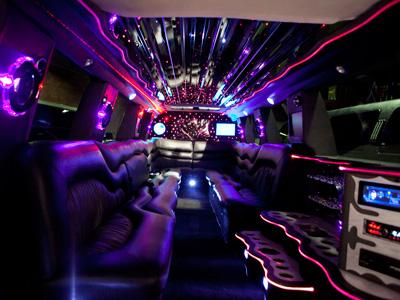 18 Passenger Stretch SUV Limo - H2 Hummer