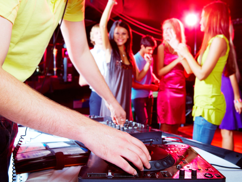 Party Bus for Sweet 16 Party